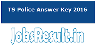 TS Police Answer Key 2016