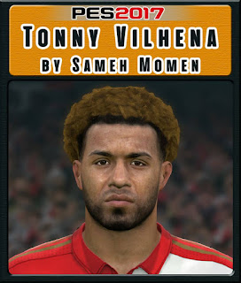 PES 2017 Faces Tonny Vilhena by Sameh Momen