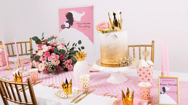 Organizujemy Wieczór Panieński - kolekcja Bride z księżniczkowym motywem!
