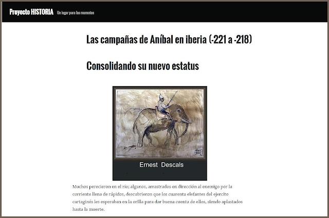 ELEFANTES  ANIBAL-PINTURA-HISTORIA.ESTUDIOS-HISTORICOS-ARTE MILITAR-PINTOR-ERNEST DESCALS
