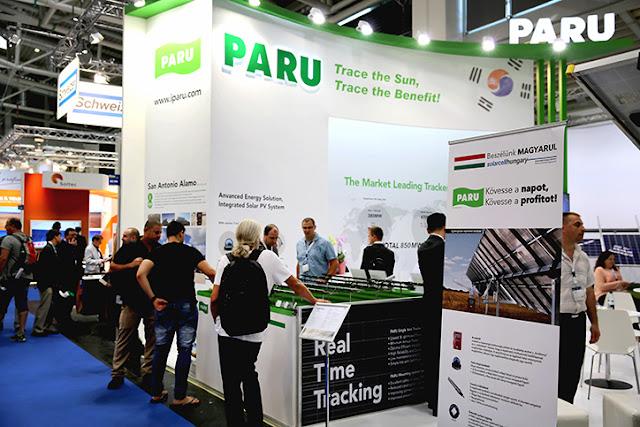 PARU participates in InterSolar EUROPE