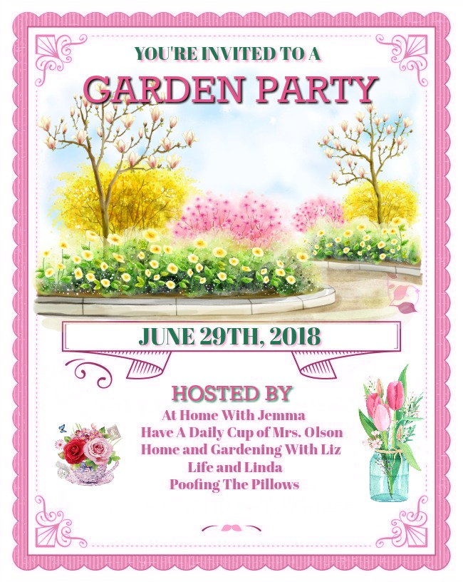 Please mark your calendar and join us for a garden linky party!