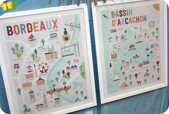 Affiches Bordeaux et le Bassin d'Arcachon - La Fabriken