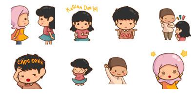 WeChat Hadirkan Stiker Animasi 'Siti and Friends'