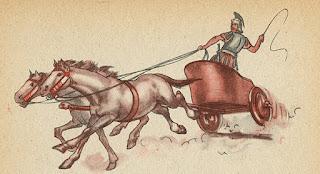 mezzi di trasporto degli antichi romani
