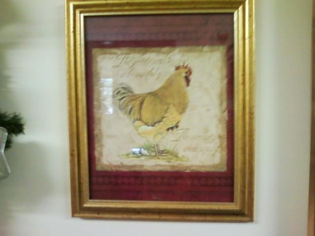 framed rooster wallpaper border - photo #32