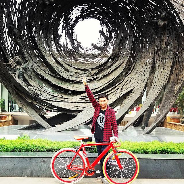 foto pemandangan museum nasional jakarta