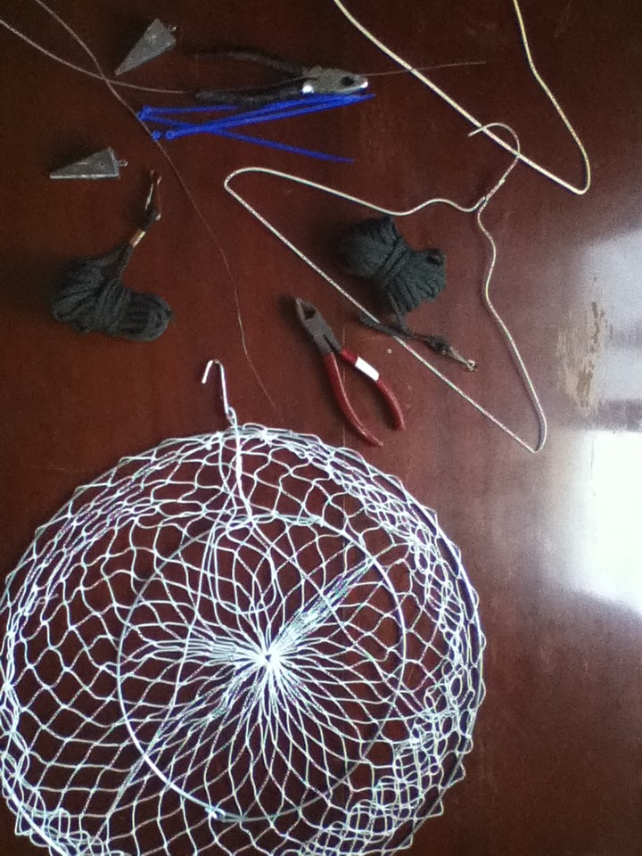 Something S Fishy How To Rigging A Hoop Trap For Blue Crabs