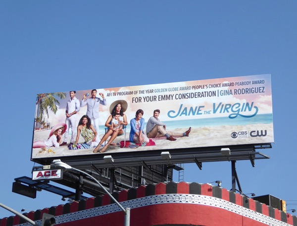 Jane the Virgin season 2 Emmy billboard