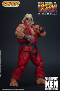 Ultra Street Fighter II- The Final Challengers Violent Ken