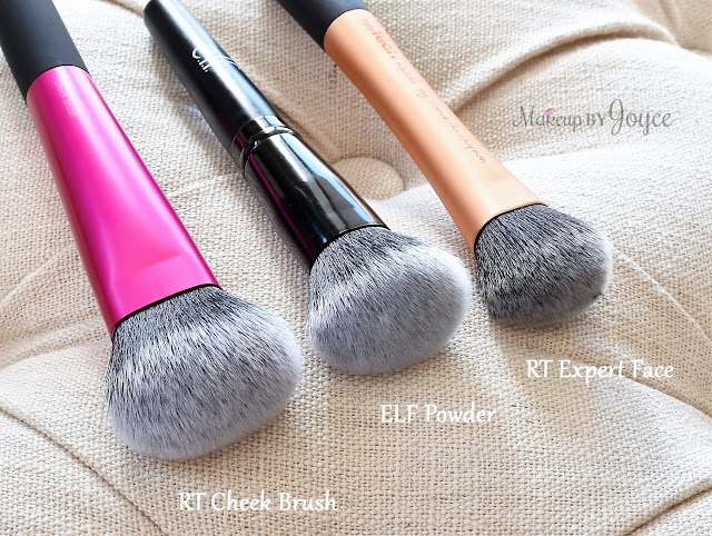 Real Techniques Cheek and Lip Brush Set Review Limited Edition