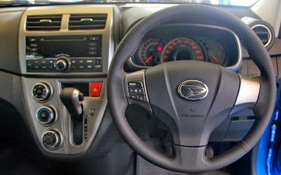 Interior Daihatsu New Sirion Facelift 2015
