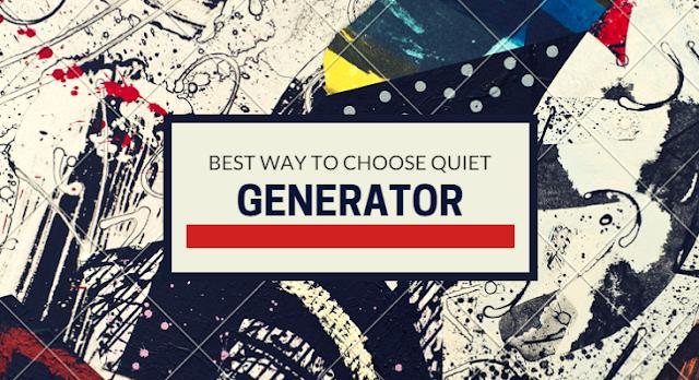 Quiet Inverter Generator