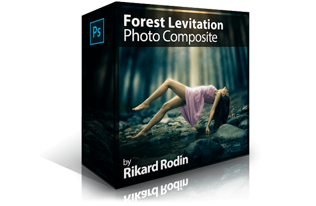 Forest Levitation Photo Composite
