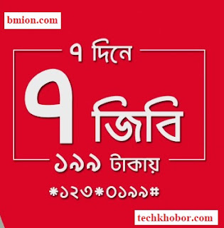 Robi-7GB-7Days-199Tk-Daily-1GB-Internet-Offer