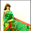 Fancy Silk Cotton Saree ethnic designs and vivid colours
