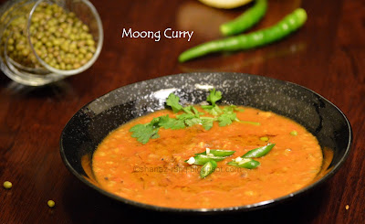 Moong Curry | Green Gram Curry