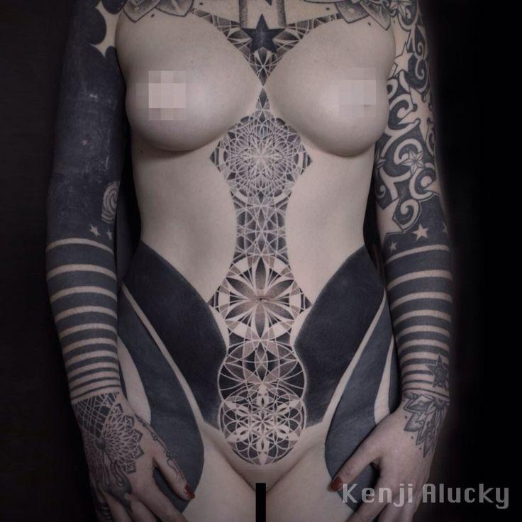 sexy black girls with tattoos