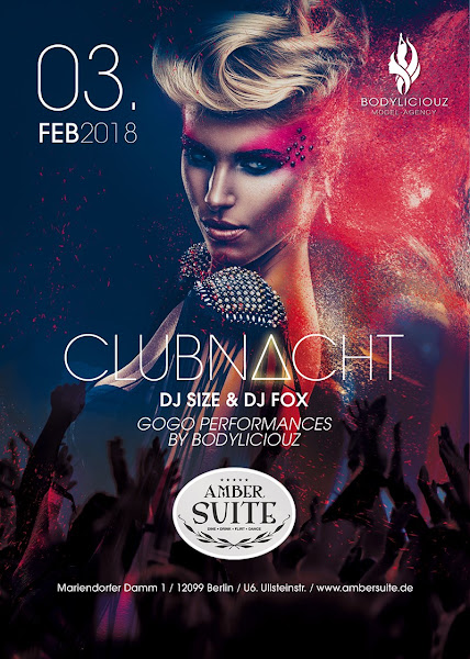 Clubnacht 03-02-18 in der Ambersuite