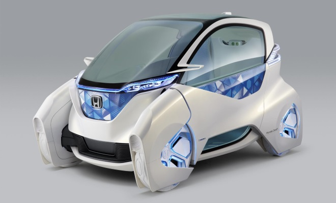 Honda Micro Commuter Concept, 2011 version