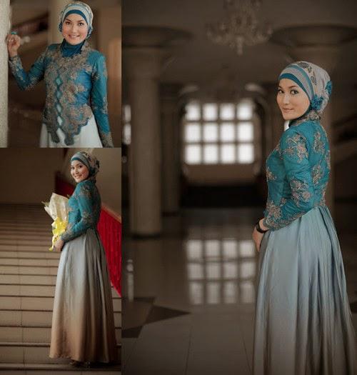 Contoh Kebaya Hijab Modern Untuk Acara Wisuda