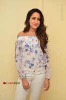 Actress Pragya Jaiswal Latest Pos in White Denim Jeans at Nakshatram Movie Teaser Launch  0004.JPG