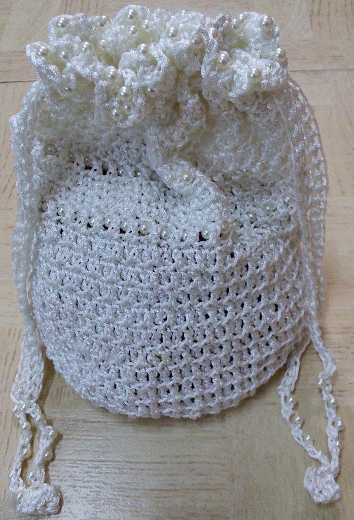 Sweet Nothings Crochet Hello Kitty Bag