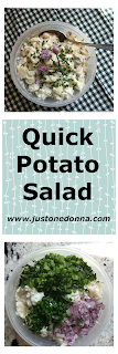 Jazz Up Store-Bought Potato Salad