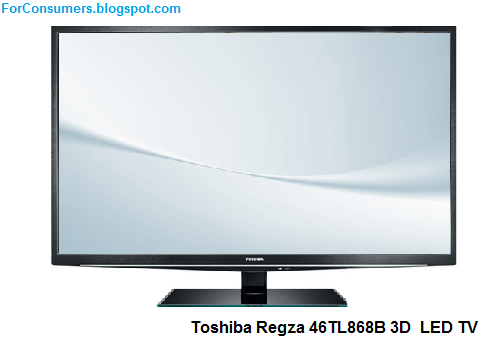 Toshiba Regza 46TL868B 3D LED TV price, review and specs