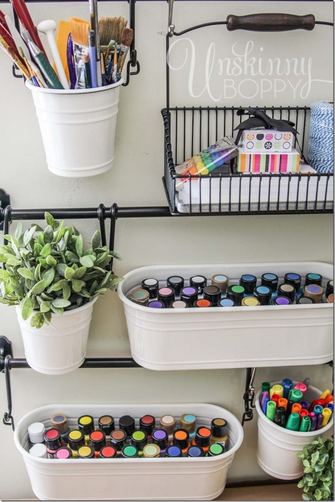 Craft room organization and storage ideas handy diy Homemade craft storage ideas