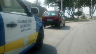Ronda Setorial da GCM de Santo André localiza veículo furtado pela Vila Guiomar