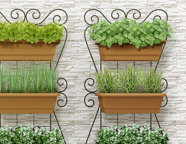 pequena horta e não tem espaço na sua casa, venham conferir e se