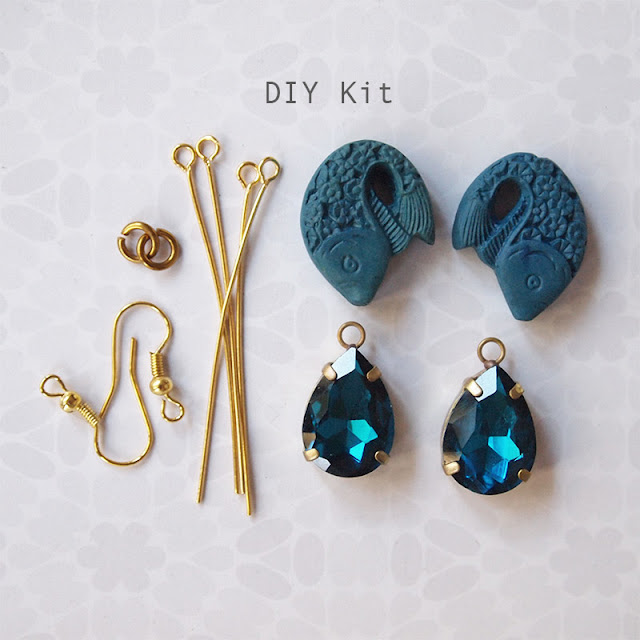 DIY Earring or Pendant Kit