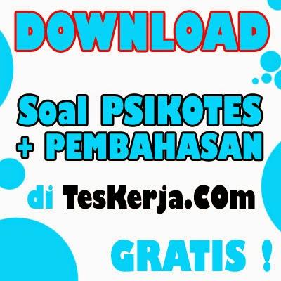 Download Contoh Soal Psikotes Terbaru 2015 ( GRATIS )