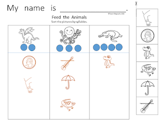 Teach Magically Segmenting Words Worksheets