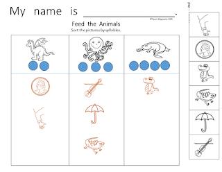 Teach Magically Segmenting Words Worksheets