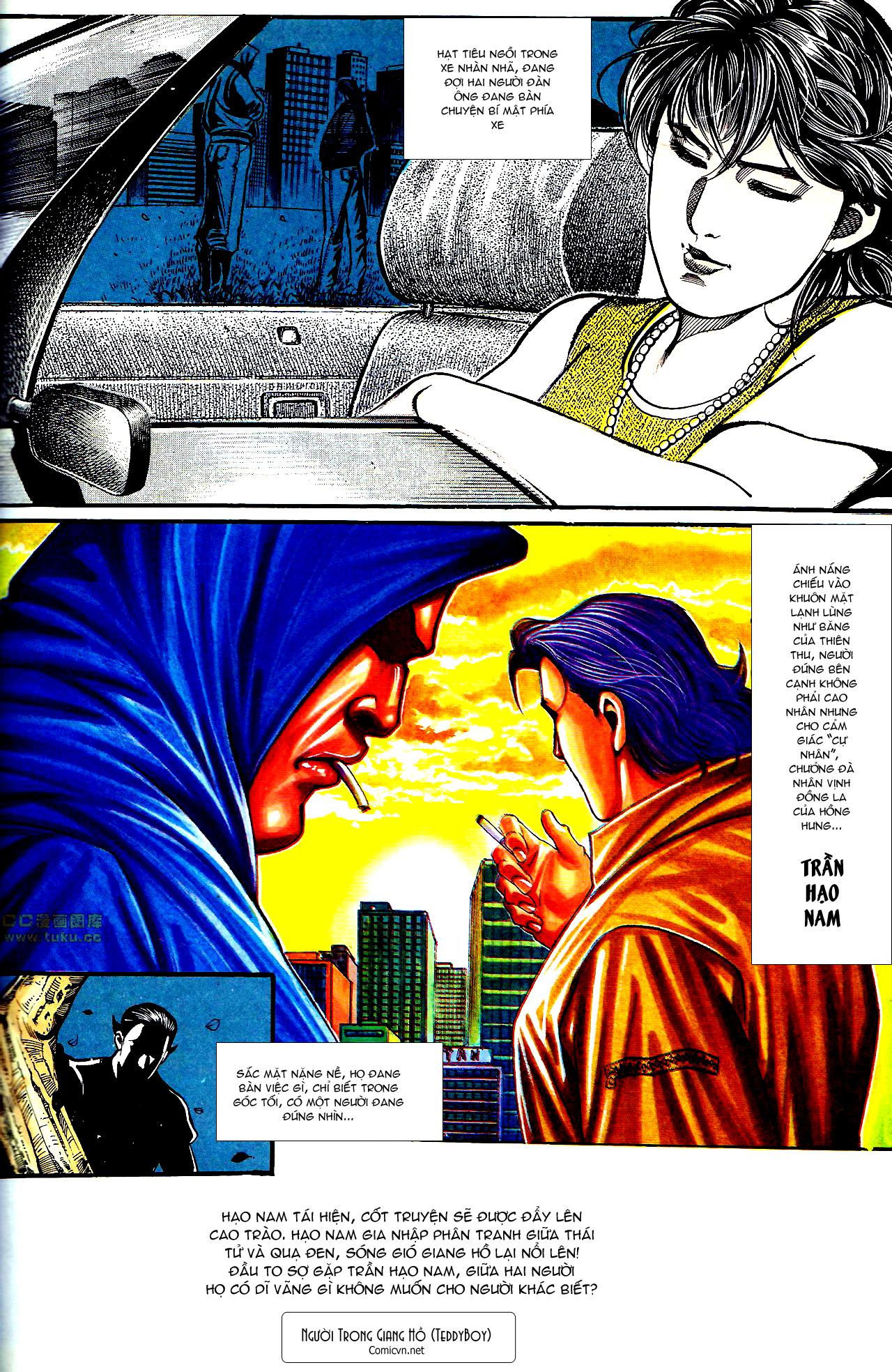 Người Trong Giang Hồ chapter 154: nam đẹp trai trang 29