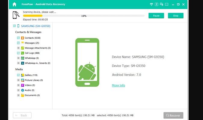 Kembalikan File dan Data Terhapus dari Android - FonePaw