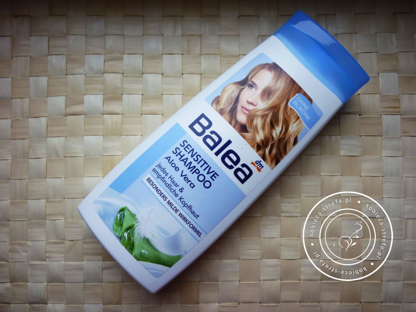 Aloesowy zawrót głowy - czyli Balea w natarciu - Balea delikatny szampon do wrażliwej skóry głowy z aloesem