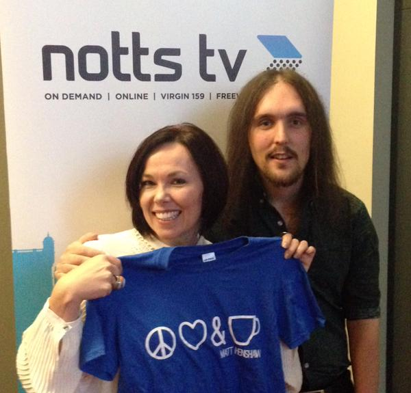 Matt Henshaw at Notts TV
