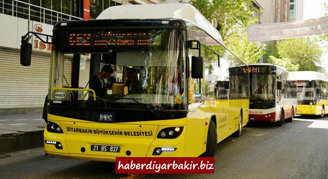 DİYARBAKIR-Diyarbakır Büyükşehir Belediyesi, 23 Nisan Ulusal Egemenlik ve Çocuk Bayramı dolayısıyla belediyeye ait toplu taşıma araçları kent merkezi ve ilçelerde vatandaşlara hizmetlerini ücretsiz verecek.