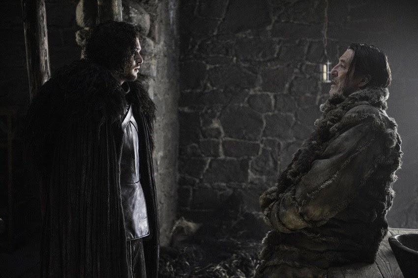 Jon Snow e Mance Rayder