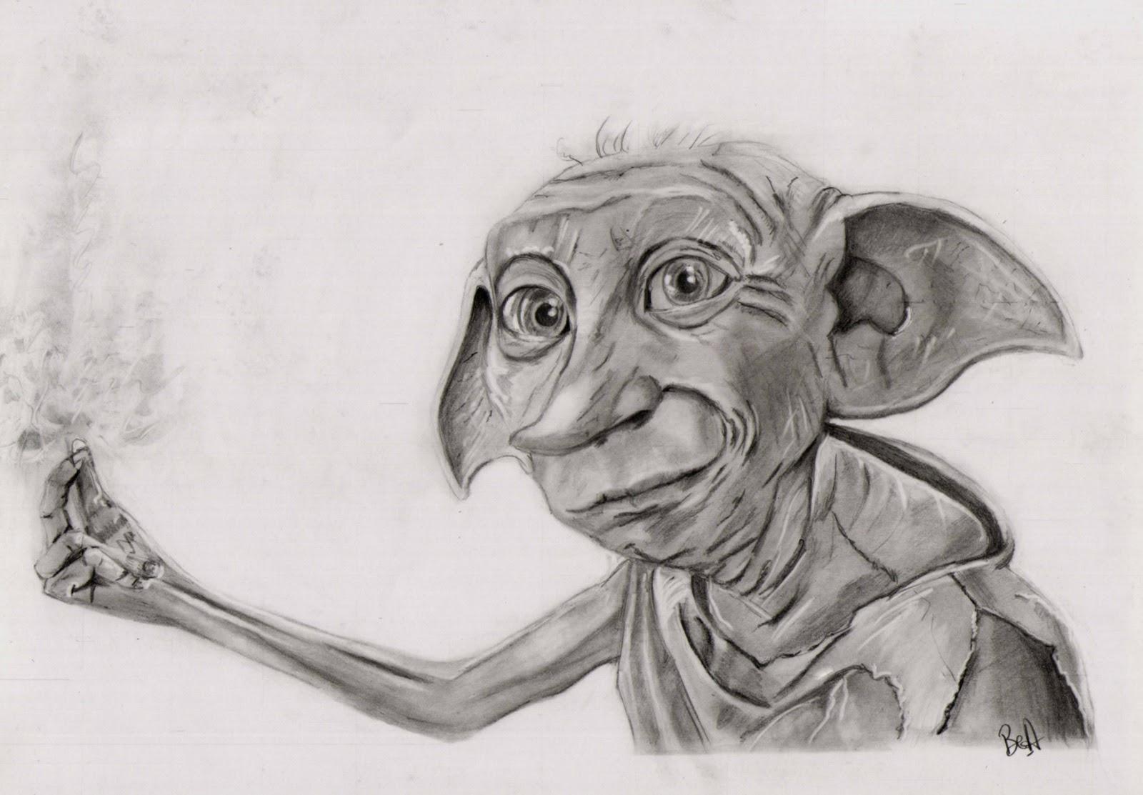 Le blog de Béa : mes dessins, photos, peintures...: Dobby ...