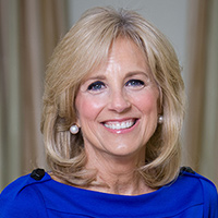 Jill Biden photo credit www.whitehouse.gov/administration/jill-biden