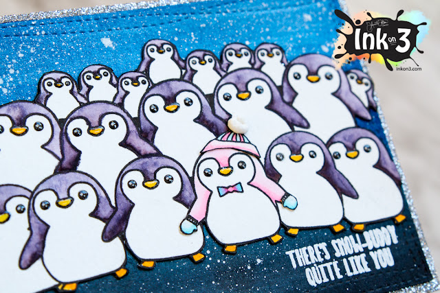 There's Snow-Buddy Quite Like You Birthday Card - Ink On 3 Stamps