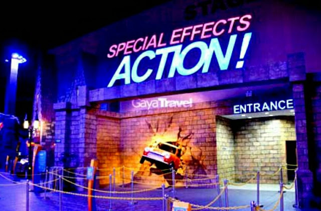 spesial efect Action trans studio mall