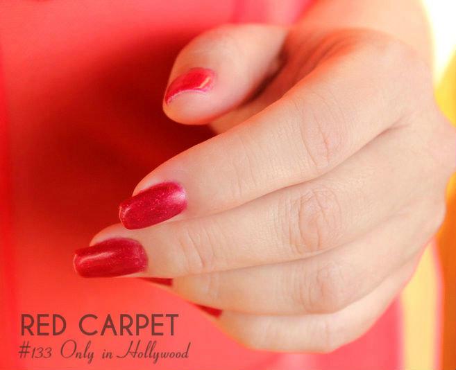 Отзыв: Маникюр с гель-лаком #133 Only in Hollywood от Red Carpet.