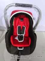 Kereta Bayi LightWeight BabyElle BS-S702 Cruz TS Travel System - Baby Carrier BabyElle CS1000