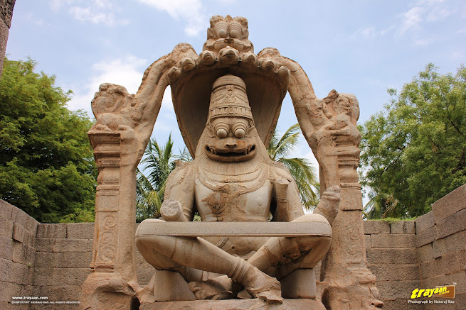 Lakshmi Narasimha monolith of Hampi