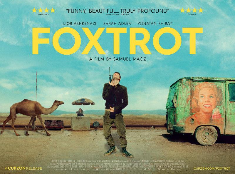 foxtrot film poster